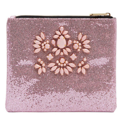 ROSE BLING POUCH